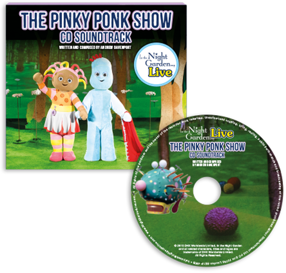 The Pinky Ponk Show CD Soundtrack  sc 1 st  In the Night Garden Live & In The Night Garden | Shop